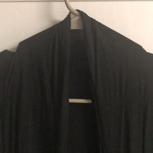 Tops - Forever 21 Black Long Sleeve Cardigan Blouse Top M